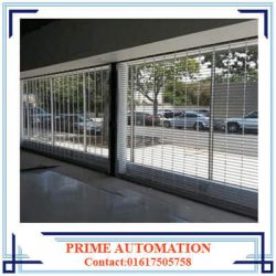 Automatic Grill Shutter- Steel