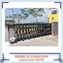 Automatic Collapsible or Retractable Gate