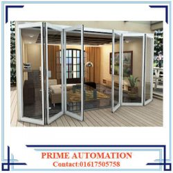Folding Glass Partition Wall