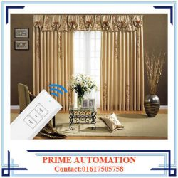 RF Remote Control Automatic Curtain System